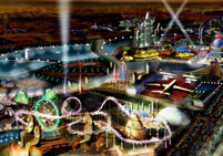 Plots next to Entertainment & Theme Parks